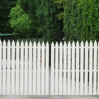 Timber Picket Fences