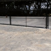Chain Mesh Industrial Gate